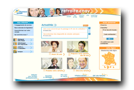 screenshot de www.retraite.cnav.fr