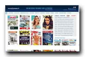 screenshot de www.revue2presse.fr