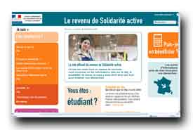 screenshot de www.rsa.gouv.fr