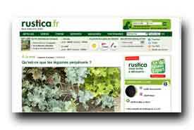 screenshot de www.rustica.fr