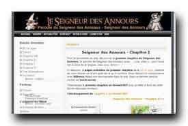screenshot de www.seigneur-des-annours.com