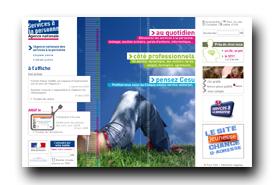 screenshot de www.servicealapersonne.gouv.fr
