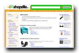 screenshot de www.shopzilla.fr