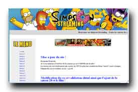 screenshot de www.simpson-streaming.com