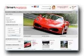screenshot de www.smartexperience.com