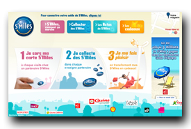 screenshot de www.smiles.fr