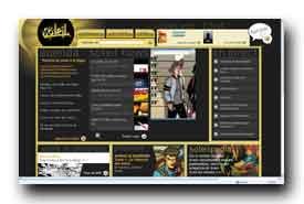 screenshot de www.soleilprod.com