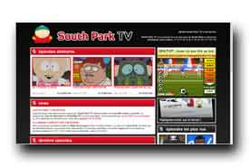 screenshot de www.southpark-tv.com