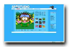 screenshot de www.sp-studio.de