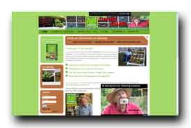 screenshot de www.squarefootgardening.com
