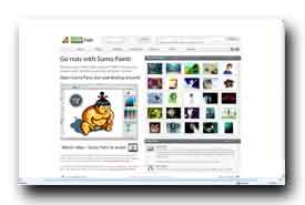 screenshot de www.sumopaint.com