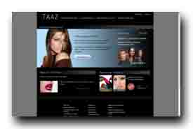 screenshot de www.taaz.com