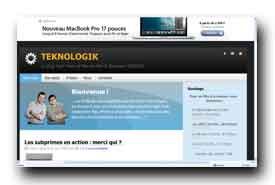 screenshot de www.teknologik.fr