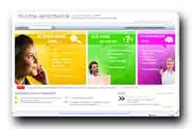 screenshot de www.telecom-infoconso.fr