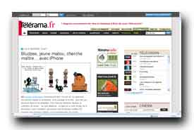 screenshot de www.telerama.fr