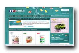 screenshot de www.tf1conso.fr