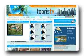 screenshot de www.tooristv.com