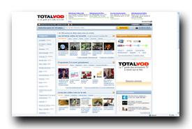screenshot de www.totalvod.com