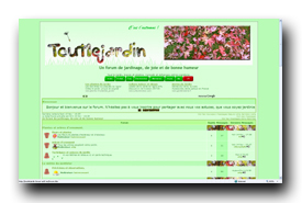 screenshot de Toutlejardin.forum-actif.eu