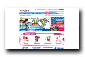 screenshot de www.toysrus.fr