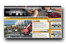 screenshot de www.trackmania.com