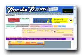 screenshot de www.trocdestrains.com