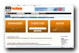 screenshot de www.trucmania.com