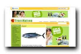 screenshot de www.trucsmaison.com
