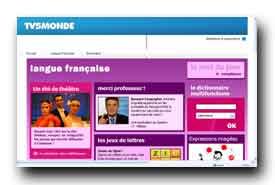 screenshot de www.tv5.org