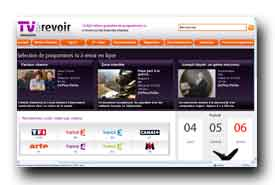 screenshot de www.tvarevoir.fr