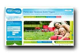 screenshot de www.vacancesandretrigano.com