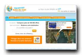 screenshot de www.vacancesvuesduciel.fr