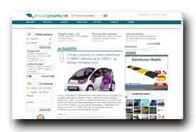 screenshot de www.vehiculespropres-net