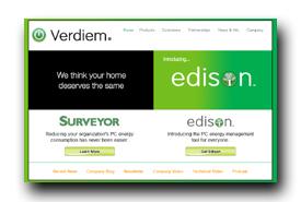 screenshot de www.verdiem.com/edison/