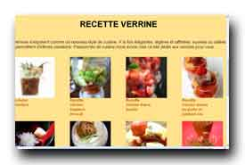 screenshot de www.verrine.org