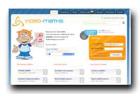screenshot de www.video-maths-fr