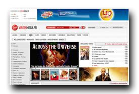screenshot de www.virginmega.fr