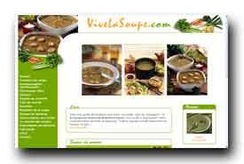 screenshot de www.vivelasoupe.com