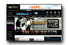 screenshot de www.vodeo.tv