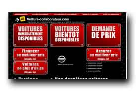 screenshot de www.voiture-collaborateur.com
