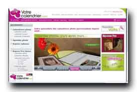 screenshot de www.votrecalendrier.com