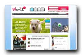 screenshot de www.wamiz.com