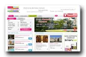 screenshot de www.weekendesk.fr