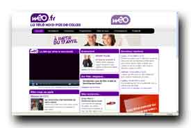 screenshot de www.weo.fr