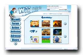 screenshot de www.wii-flash.fr