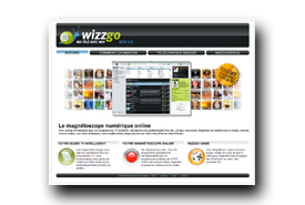 screenshot de www.wizzgo.com