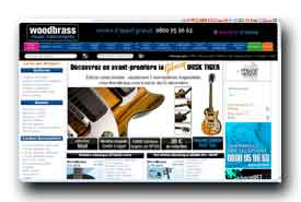 screenshot de www.woodbrass.com