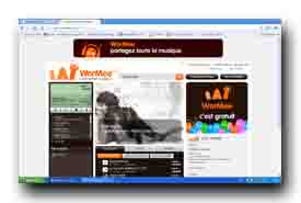 screenshot de www.wormee.com