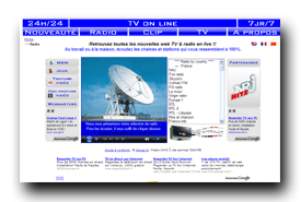 screenshot de www.youweb.tv