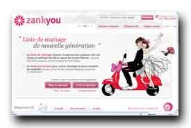 screenshot de www.zankyou.com